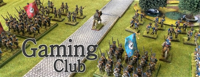 Gaming club banner