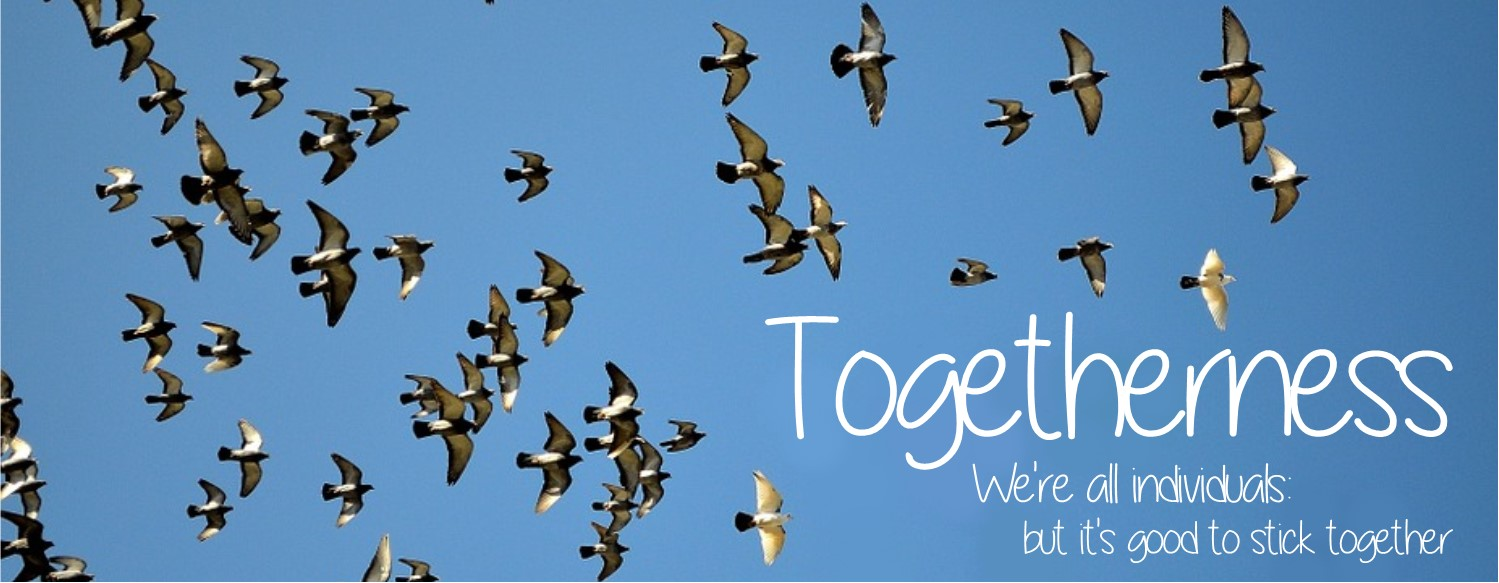 Togetherness banner